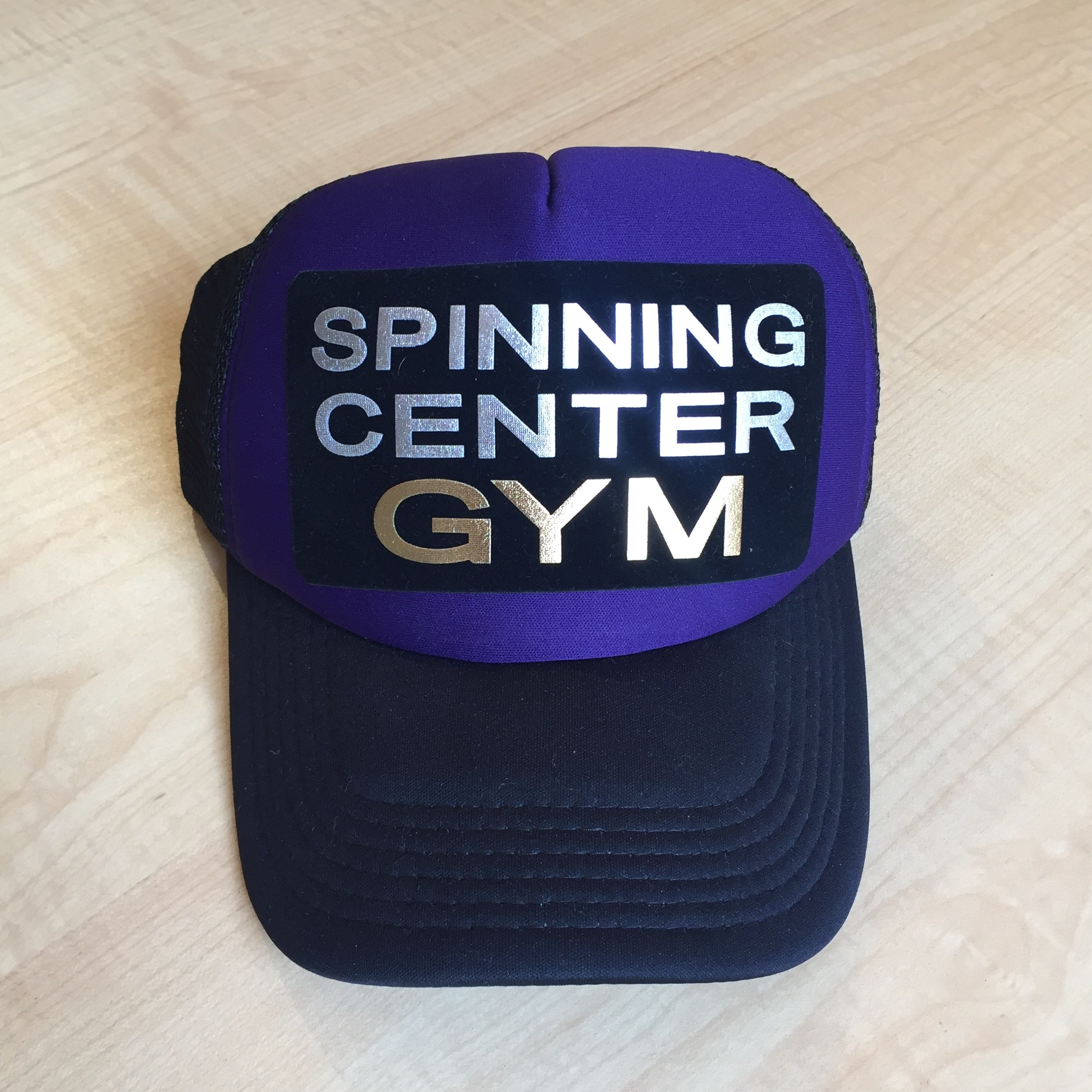 Gorras Spinning Center Gym