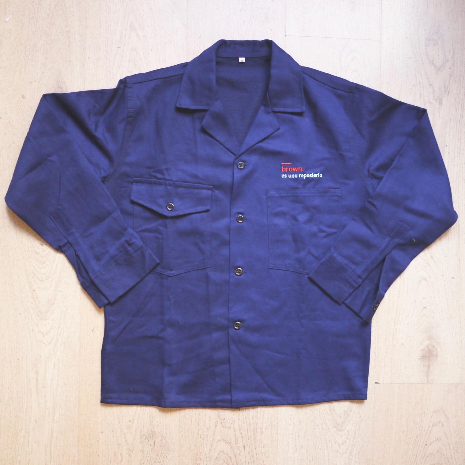 Camisa Dril de Overol 2 Piezas