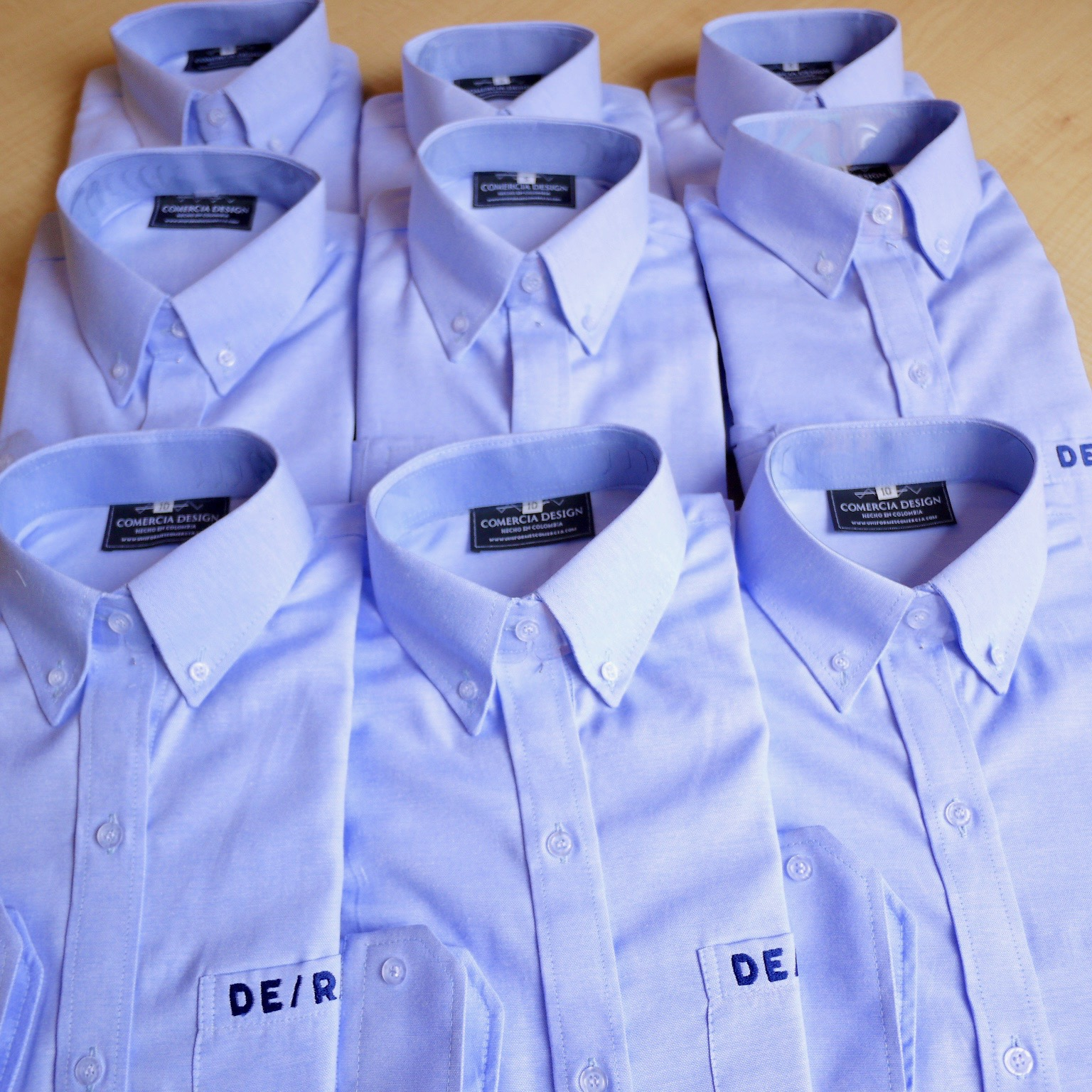 Camisas Oxford Institucionales