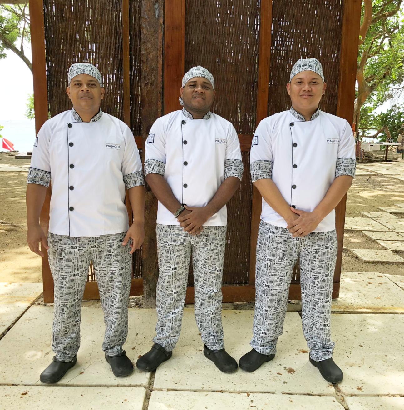 Hotel: Dotacion Uniformes Cocina