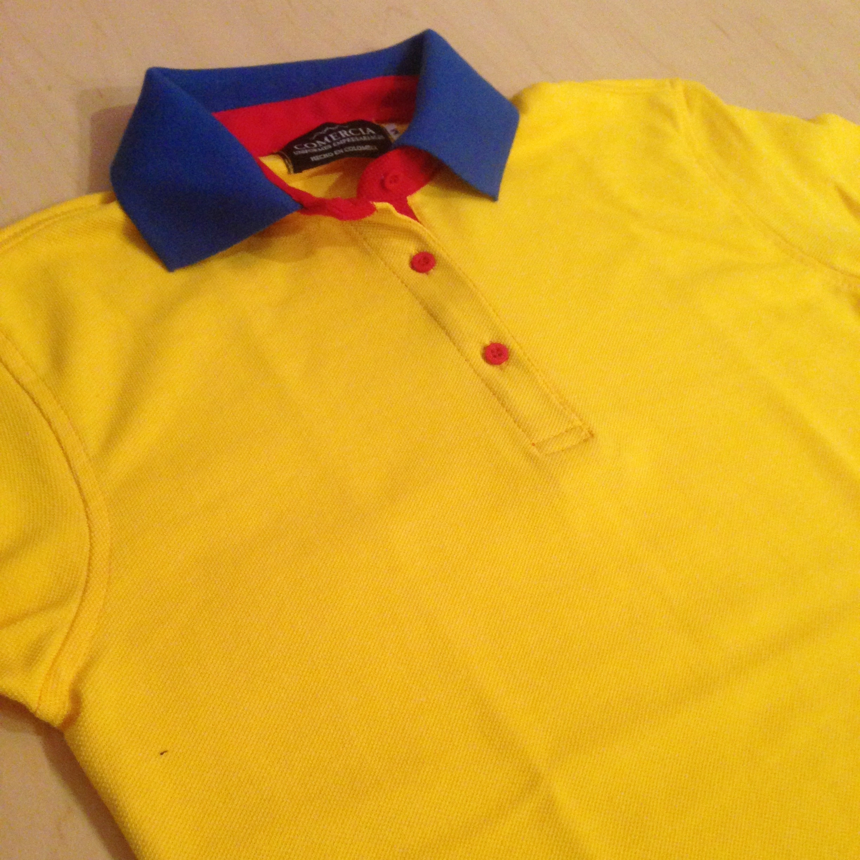 Camiseta Polo Colombia