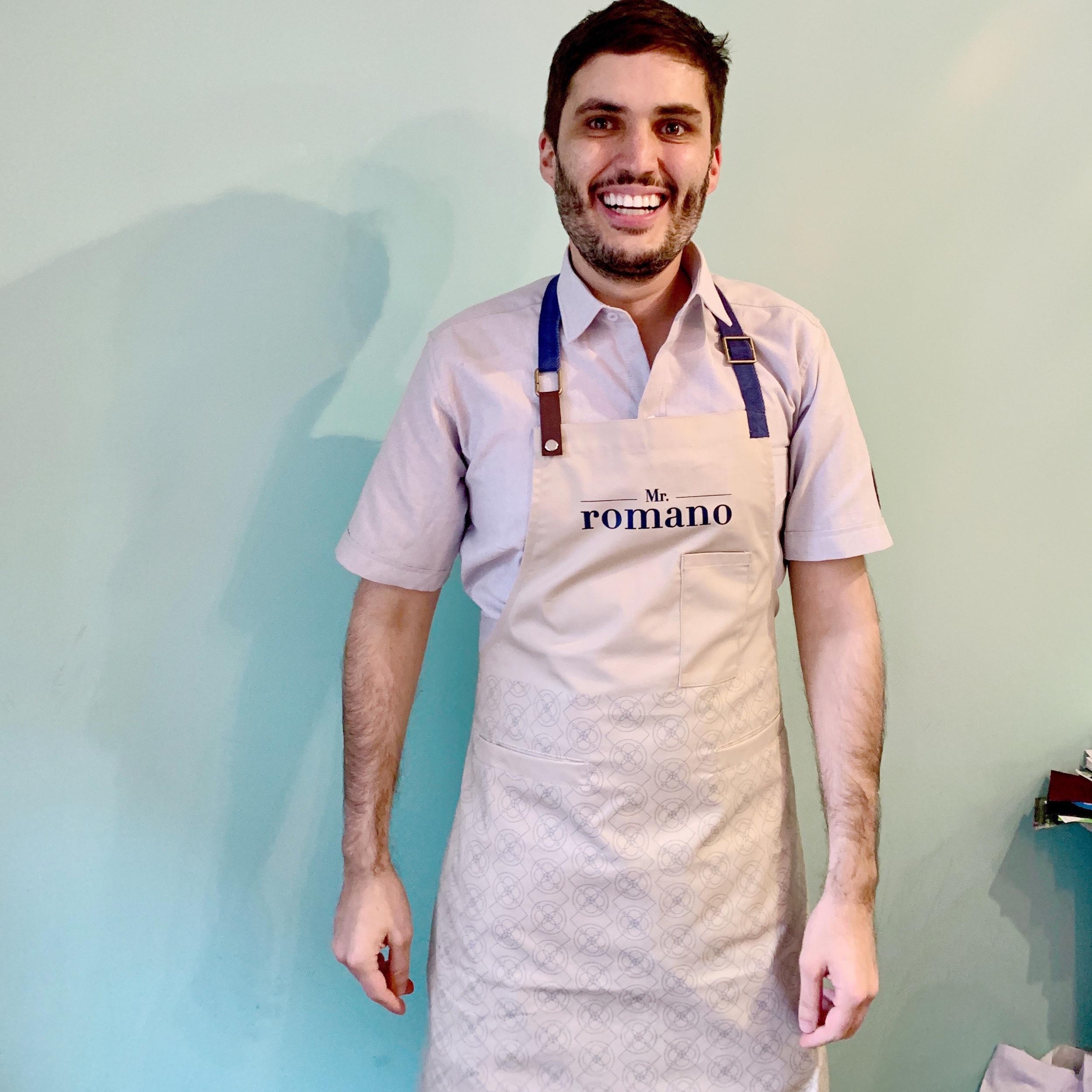 Mr Romano: Uniformes Cocina