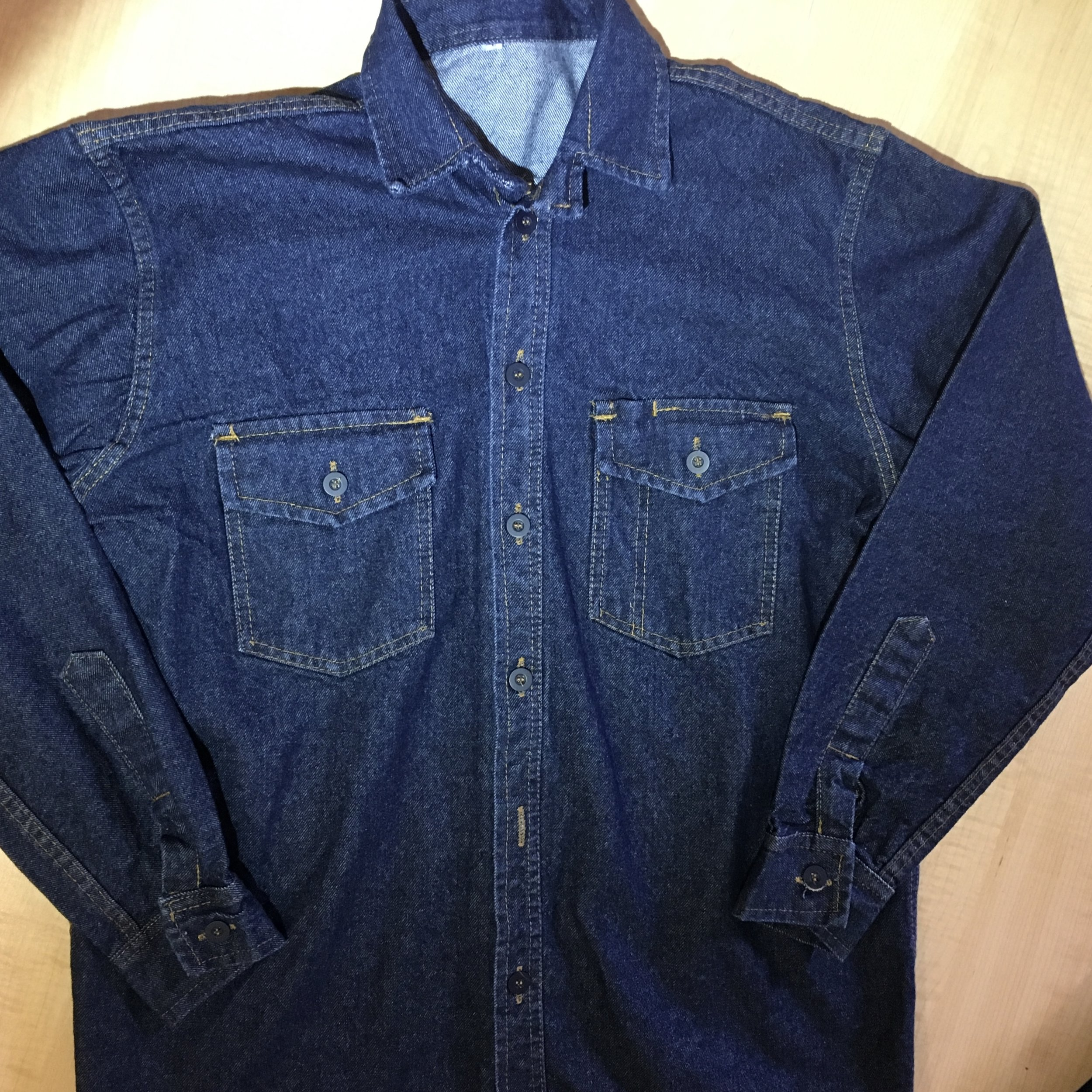 Camisa Jean 14 oz