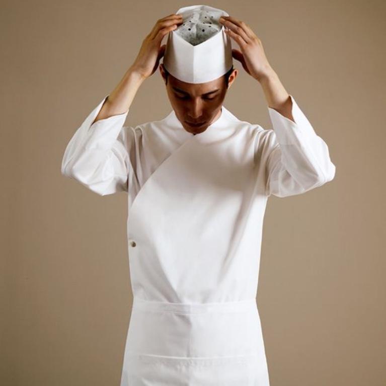 Chaqueta Chef Asiatica