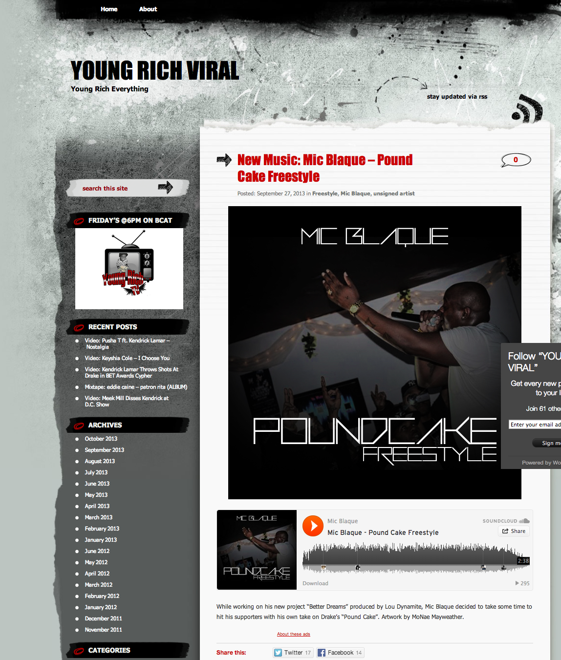 Featured on Young Rich Viral.