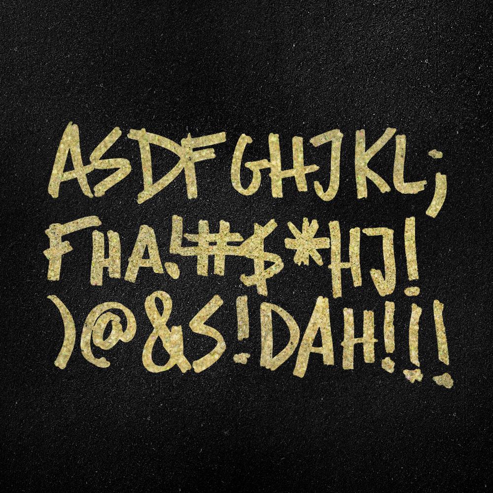 11.18.14  Gold glitter keyboard word vomit?Accurate.