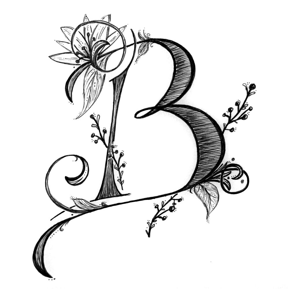 12.05.14  B for Becca! You're fabulous, girl. #loveya#rockon