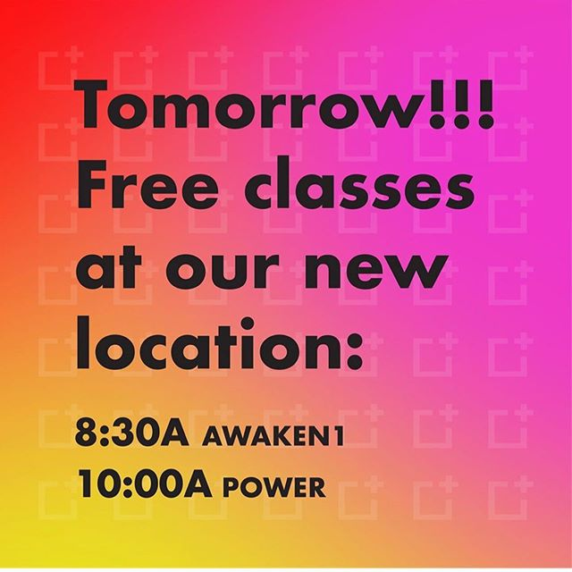 YAY @ignite_yoga !!! 🎉 join me at our lovely new location for some free yoga this weekend! Let's fill the space with so many good vibes. Shoutout to @justina_sanford, so proud of you, and thank you for working so hard for all of us!  #yoga #daytonohio #community