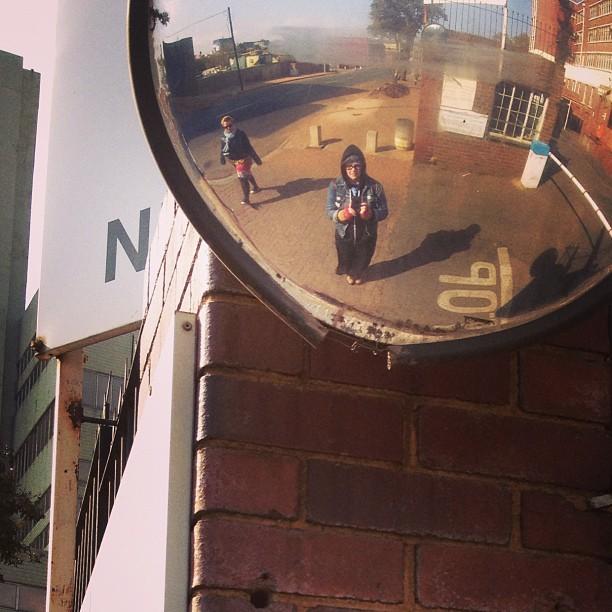 Kirsty - selfie in Johannesburg
