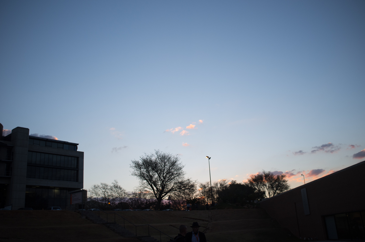 Sunset over UJ