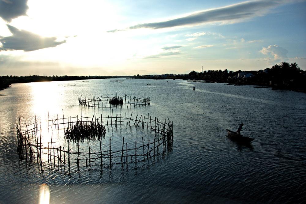 Fishermen in Hoi An, Vietnam. Summer, 2015