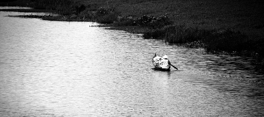 Canoe, Hue, Vietnam. Summer 2015