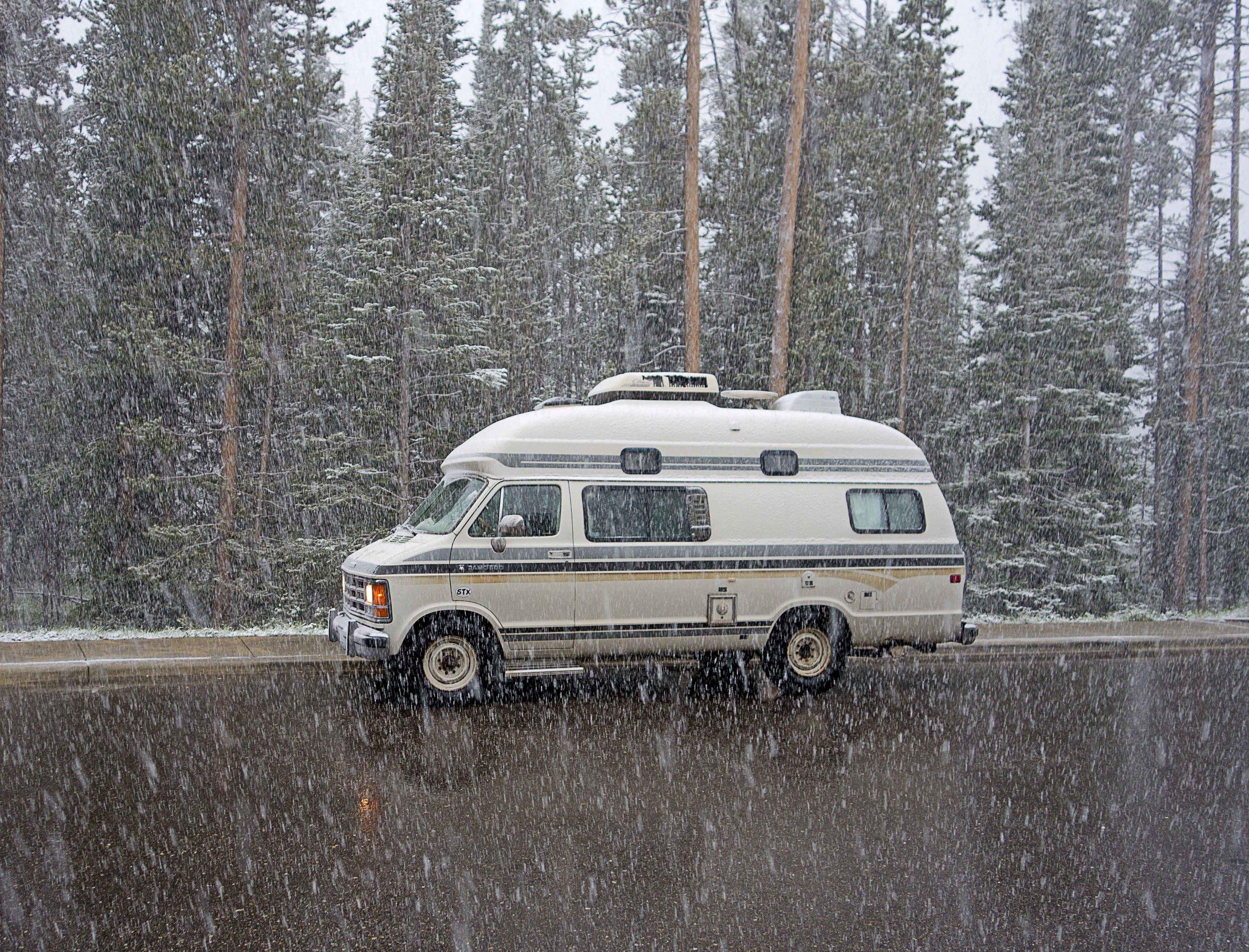 Snow, Grand Teton