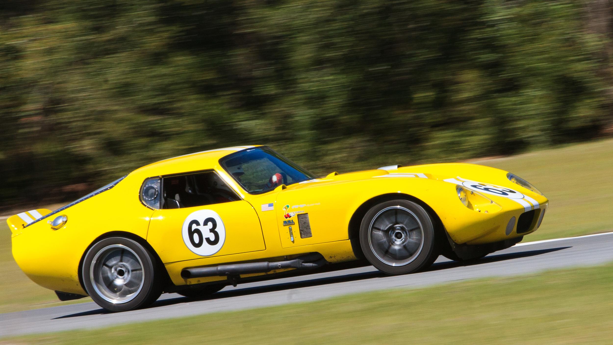 Shelby Cobra Daytona – Roebling Road Raceway, Georgia