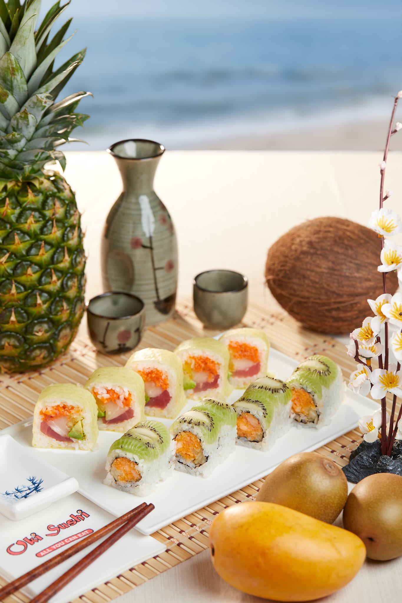Summer Ad for Oki Sushi – Lansdale, PA