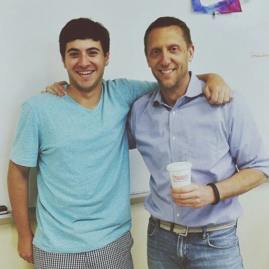 Josh and Mr. Oppel