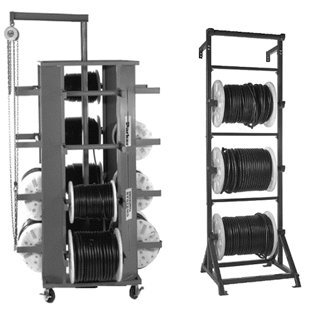 Package B includes:    Qty 1 - TH7-6 / Rotary Reel Rack - 16 Reels    Qty 1 - TH7-6-C / Overhead Crane    Qty 2 - TH7-8 / Upright 3 Hose Reel Assy.    Qty 2 - TH7-8-F / Hose Reel Extension