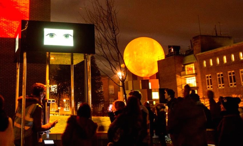 Social media was used to manage crowds at the Lumiere festival | Photo by Matthew Andrews.