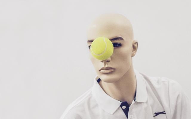 Image: Tim Croft.Tennis (detail) 2015. Photo: David Bilbrough
