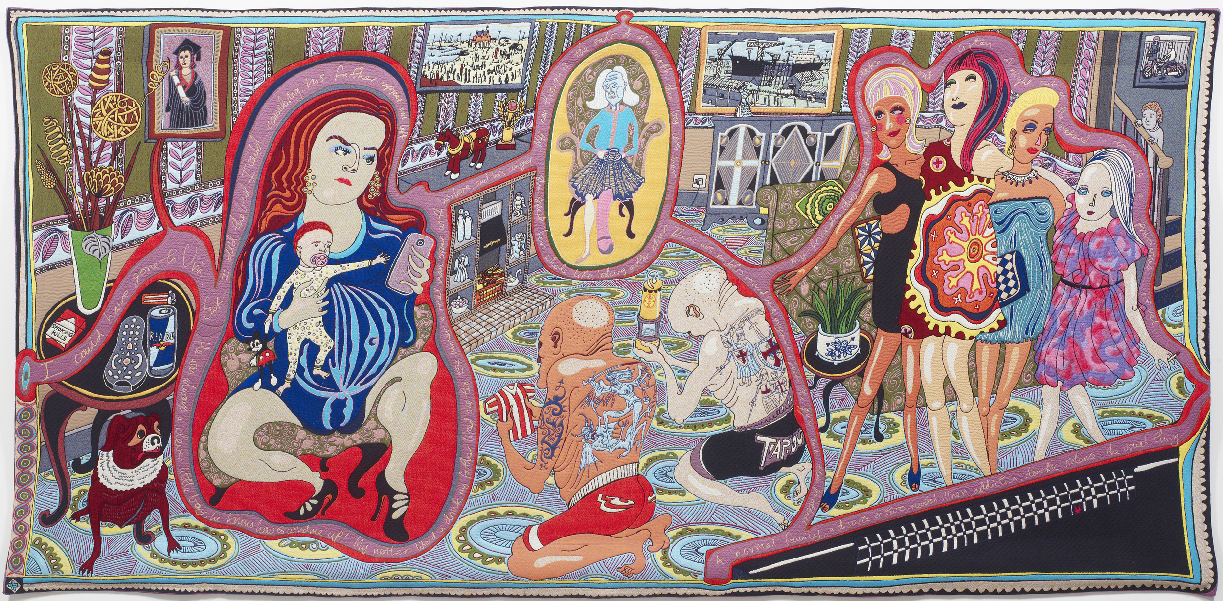Grayson Perry, The Adoration of the Cage Fighters 2012.jpg