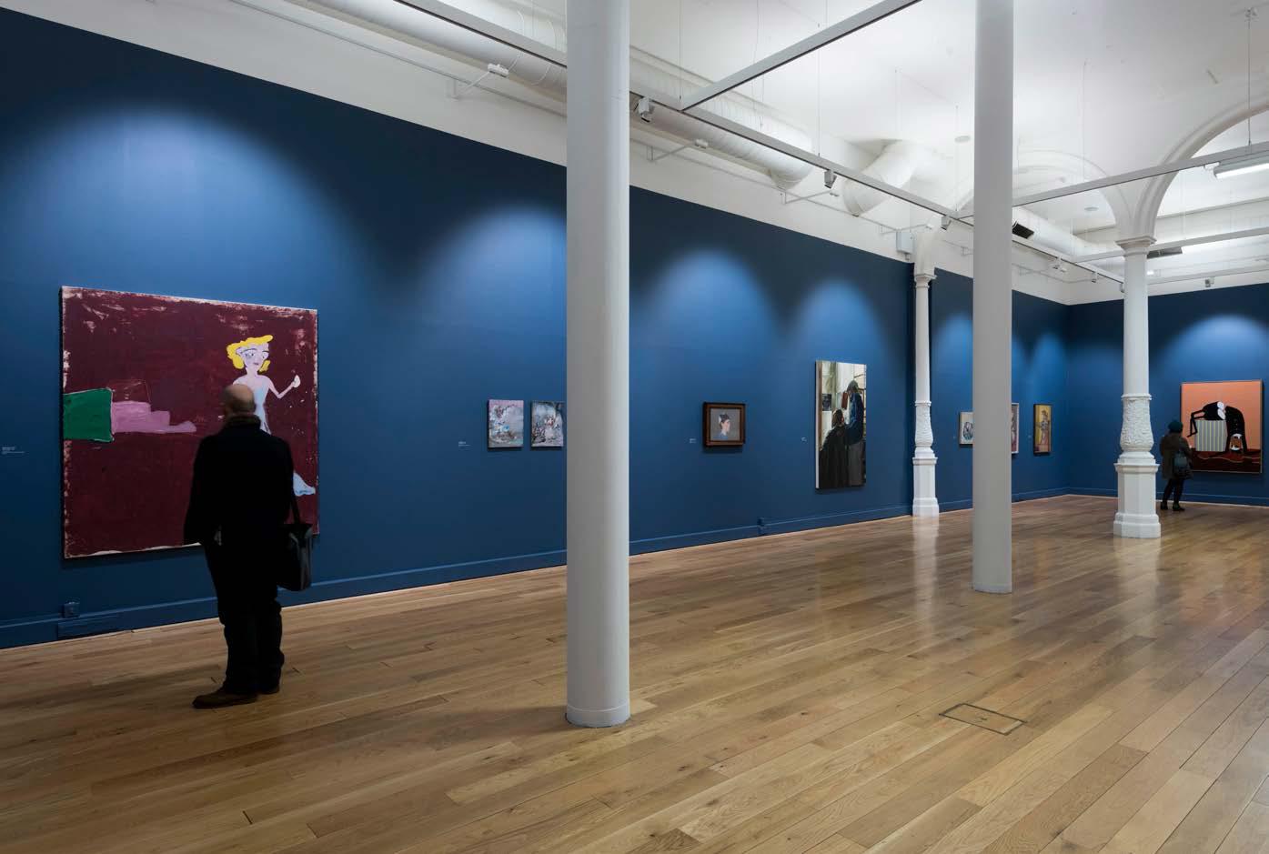 One Day, Something Happens: Paintings of People at Leeds Art Gallery, 2015