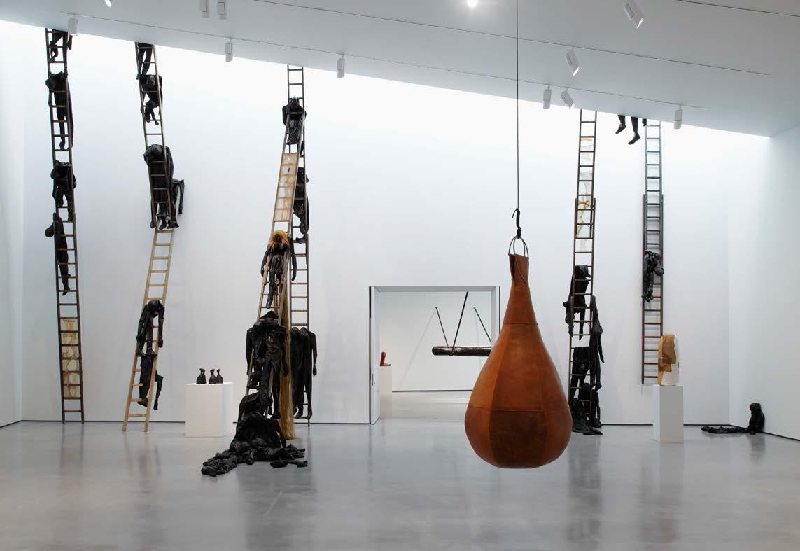 Alexandra Bircken, Hepworth Gallery Wakefield, 2014. Image courtesy of Herald Street gallery, London