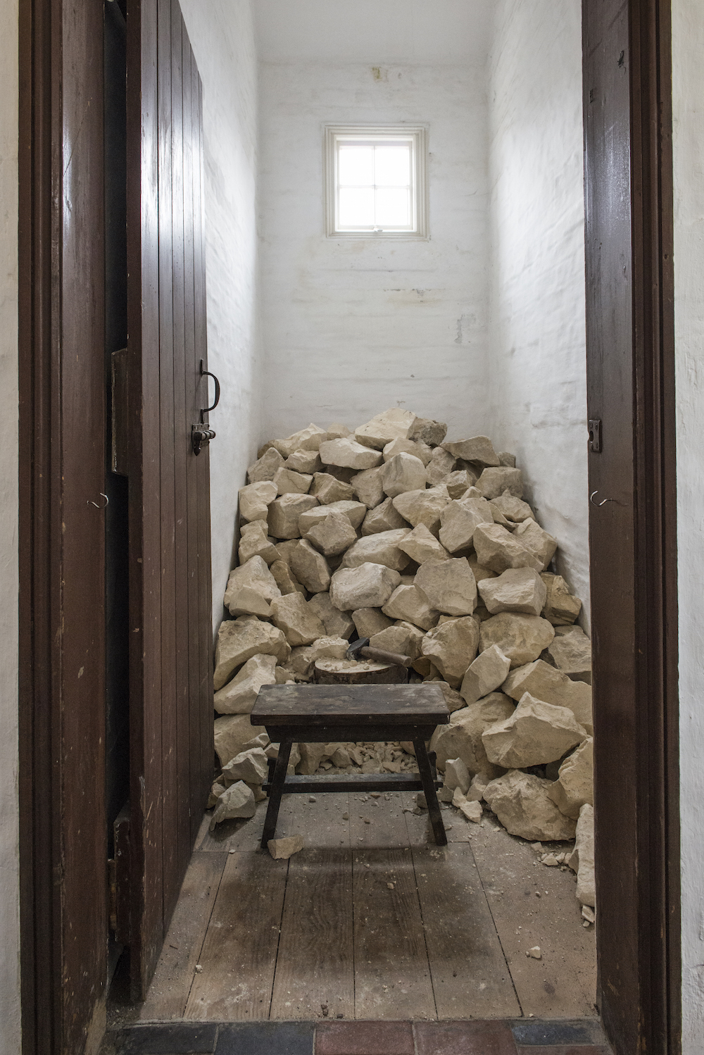 The Workhouse Museum Ripon  All in a day's work  by Catherine Bertola. Credit Jonathan Turner