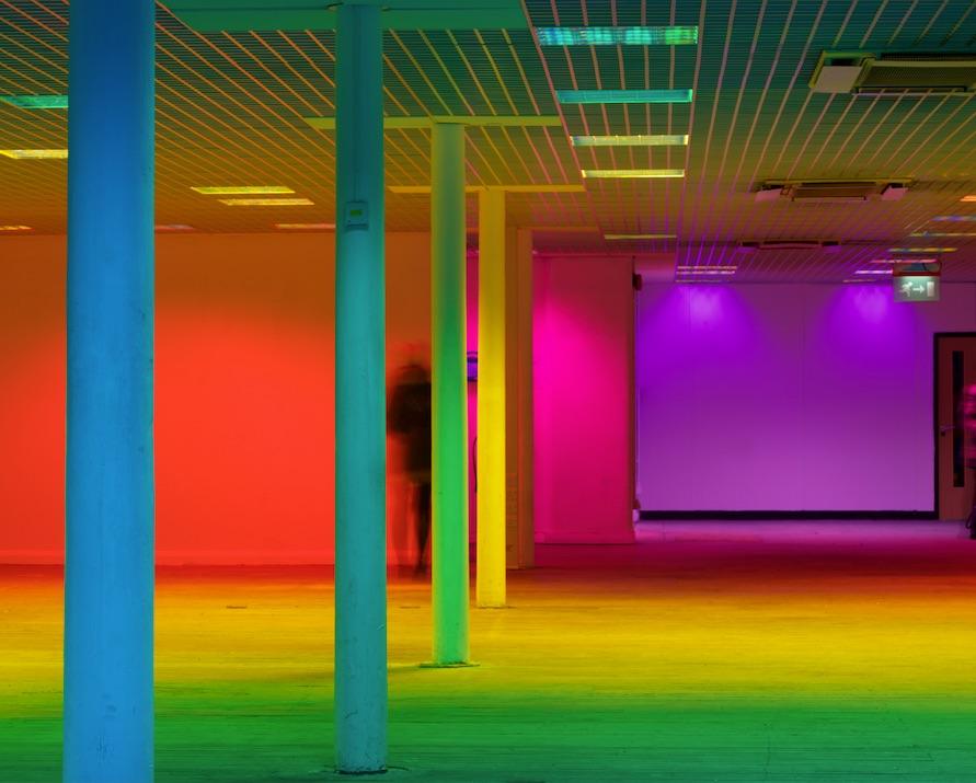Image Credit:  Liz West, Our Colour Perception, 2014. Photo: Stephen Iles