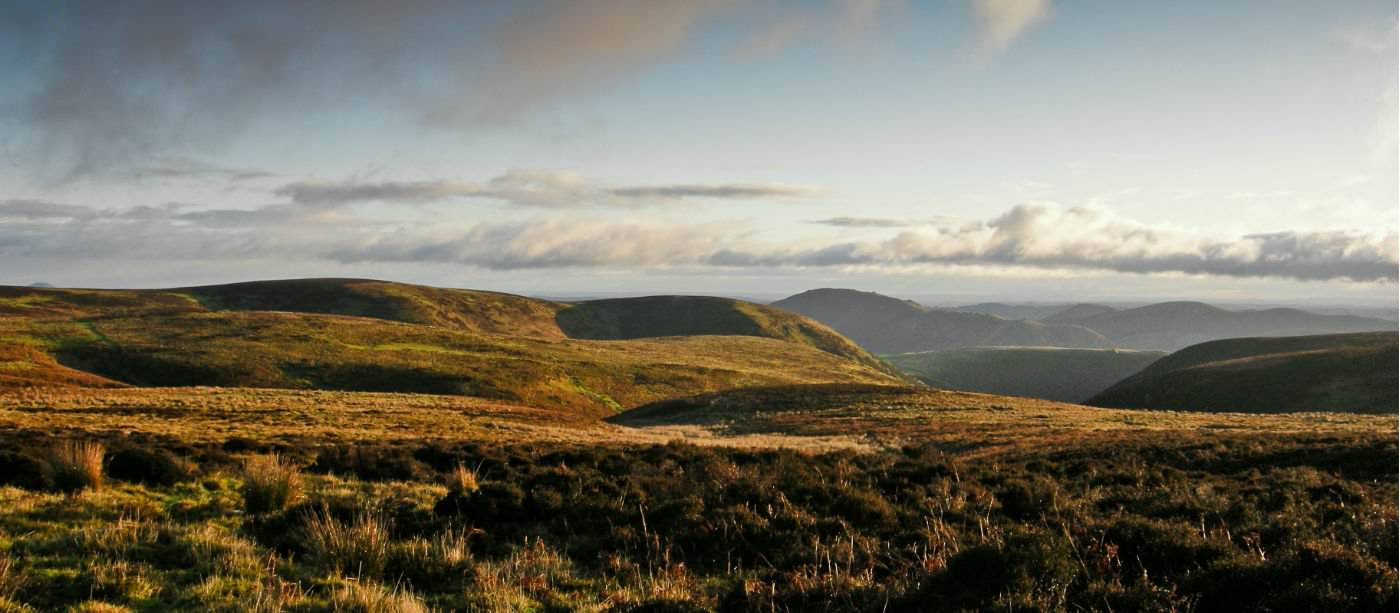 Carding Mill Valley and the Long Mynd