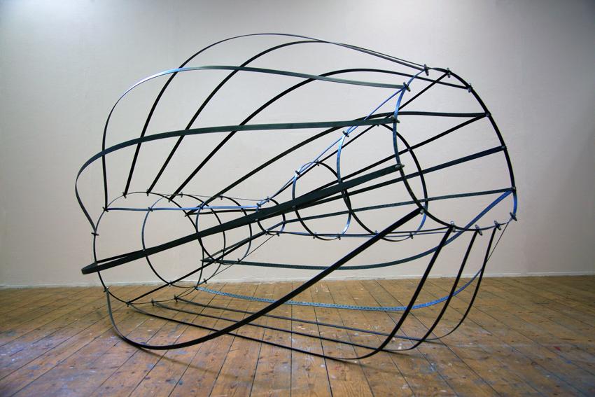 Yazmin Boyle, Orbita (sculpture).