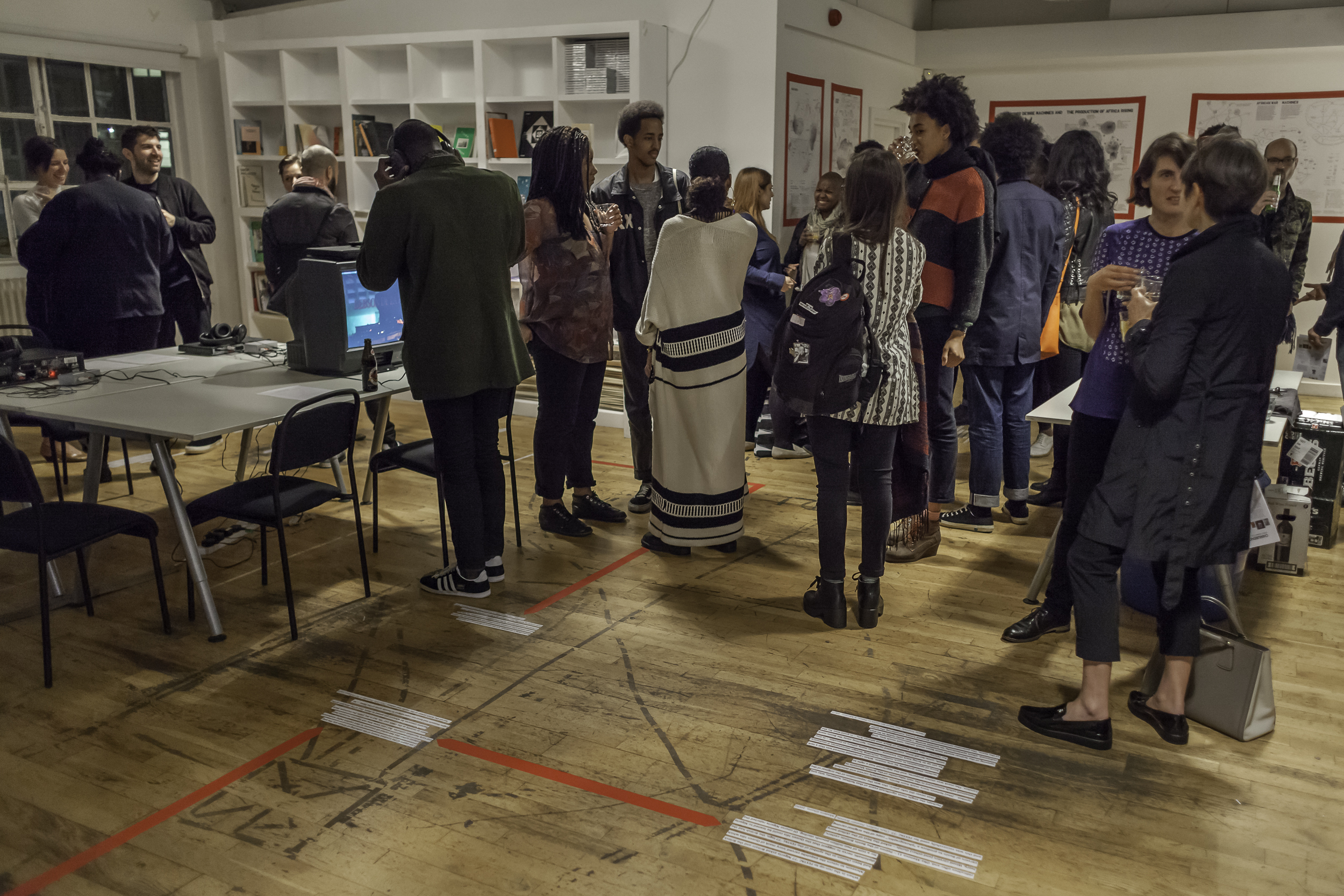 The Chimurenga Library at The Show Room. Photo credit: Dan Weill.