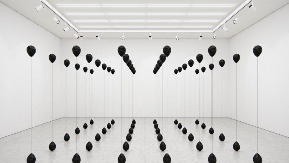 Tadao Cern, Black Balloons, 2016
