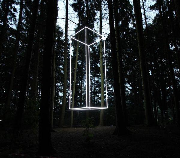 Image: Platonic Cube, 2016. Nathaniel Rackowe.