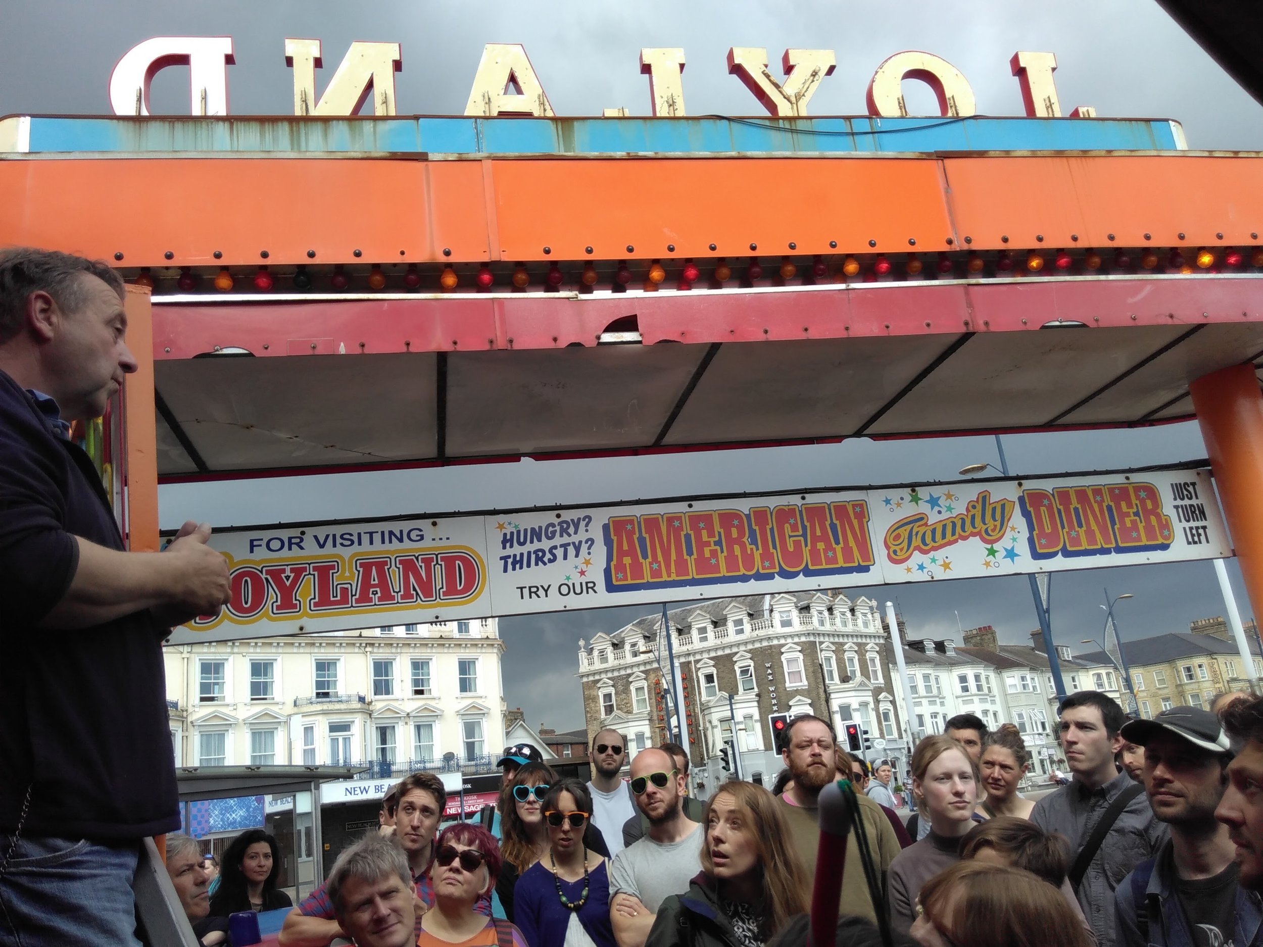 Image from  1 WOW OF A TIME - The Great Yarmouth Day Trip.  Image courtesy and copyright originalprojects.