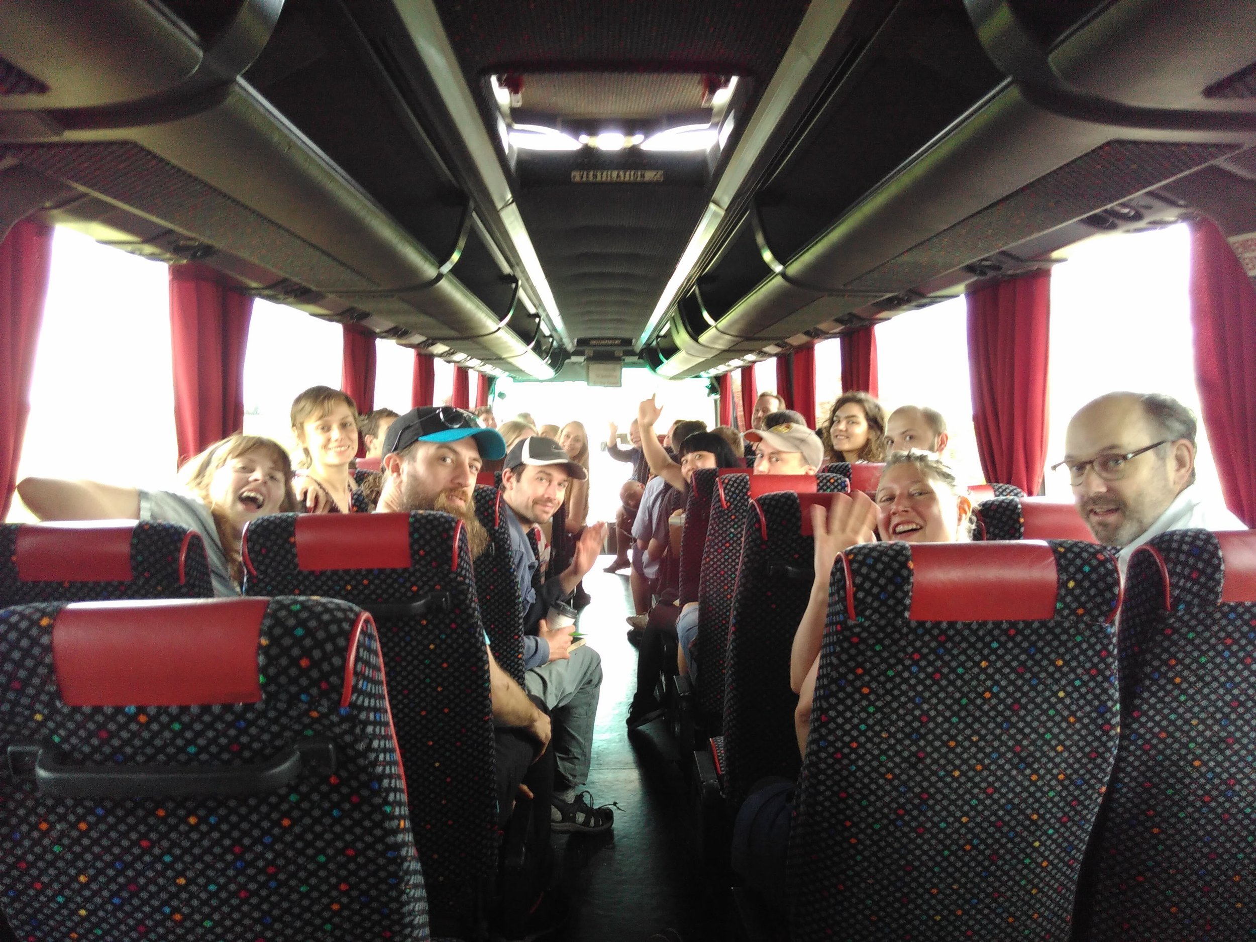 Coach trip from Norwich to Great Yarmouth. Image: originalprojects;