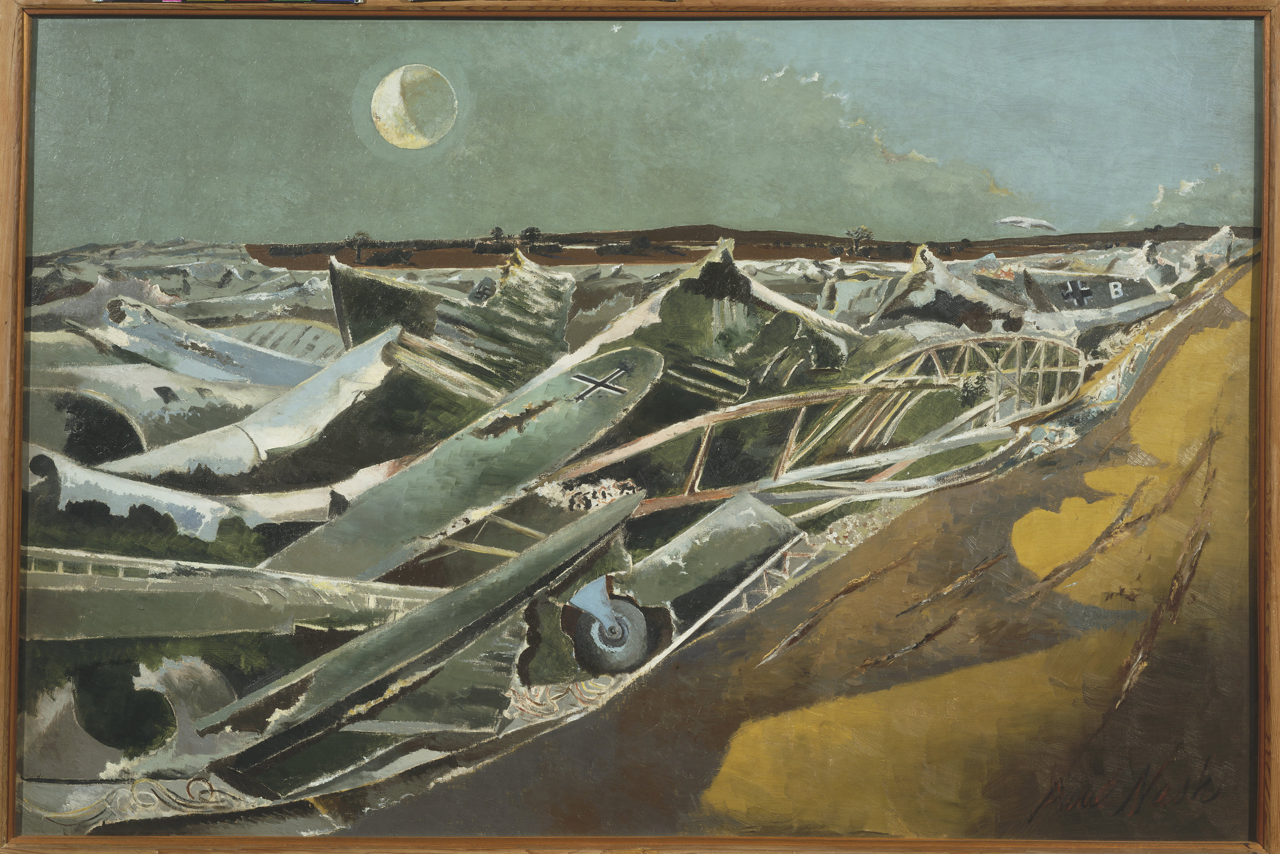 Totes Meer (Dead Sea), 1940-1 by Paul Nash © Tate, London.