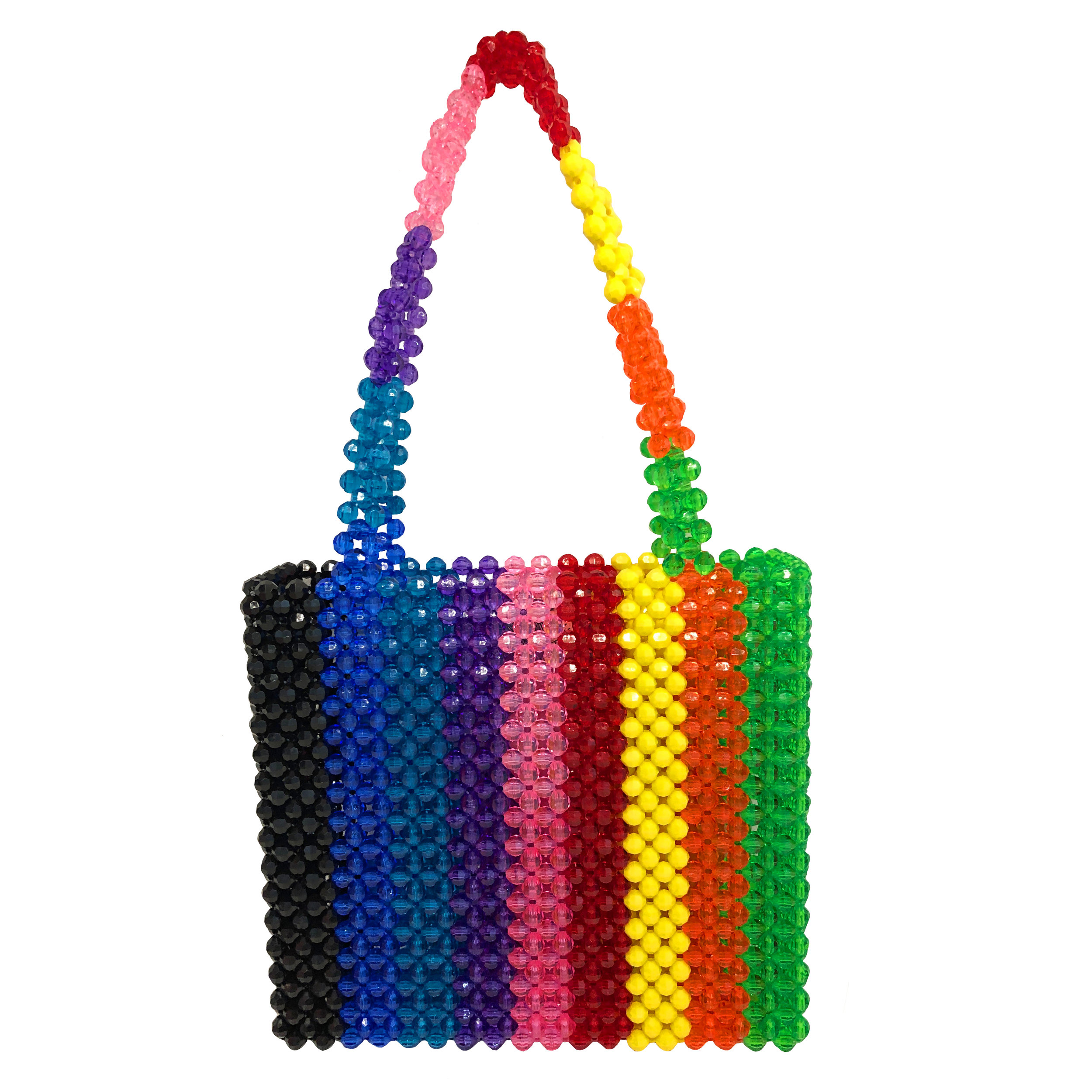 Rainbow Bag - $360Imagine dropping a big ol' sack of jelly beans on the ground. End scene.That's the inspo behind this bag. And in fairness to all flavors, we even included the dreaded licorice, because one day, I will learn to understand why it's a thing.released in very limited quantity, sign up below to be notified FIRST!