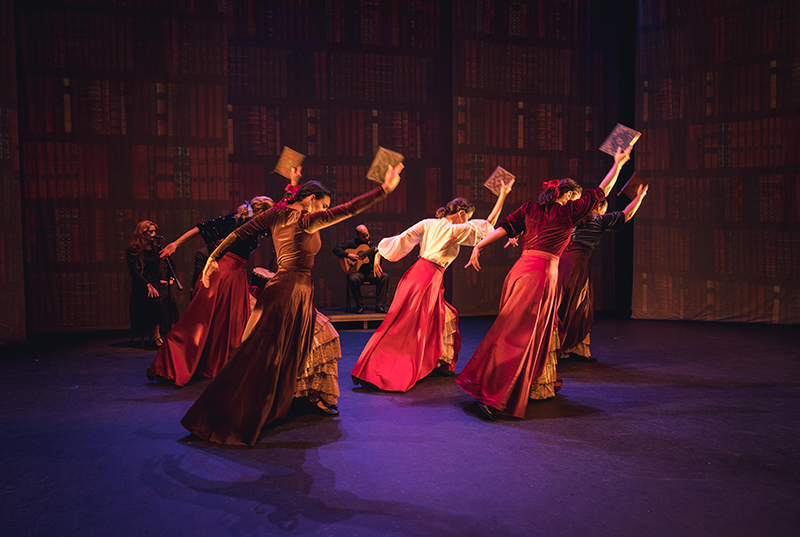 A'lante Flemenco's  Juana: First (I) Dream  accompanied by members of Texas Early Music Project
