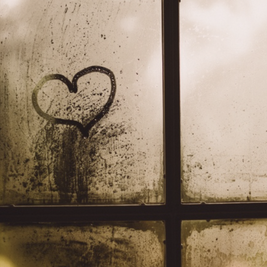 "Gaelle Marcel ""Foggy window heart"""