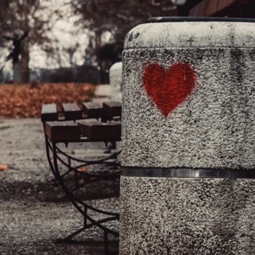 "Zoritsa Valova ""Heart in the Park"" (Rousse, Bulgaria)"