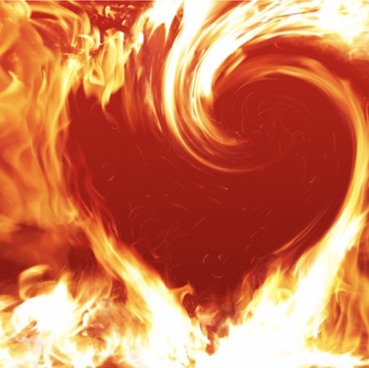 "Japneet Singh ""Burning Heart Wallpapers"""