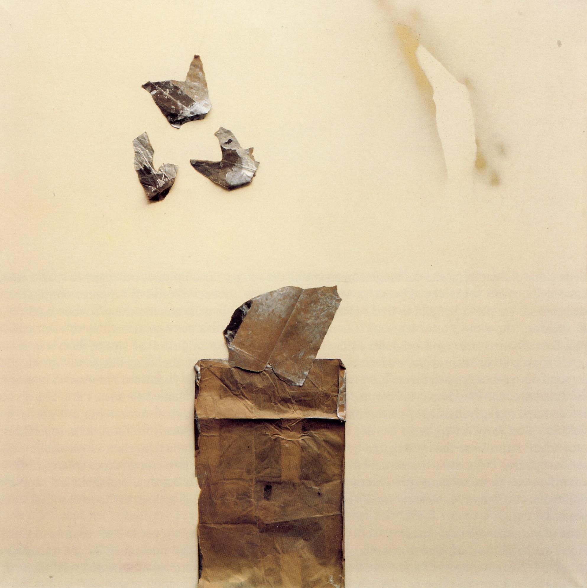 senza titolo, 1982, polimaterico su tela, cm 190 x 190  untitled, 1982, mixed media on canvas, cm 190 x 190