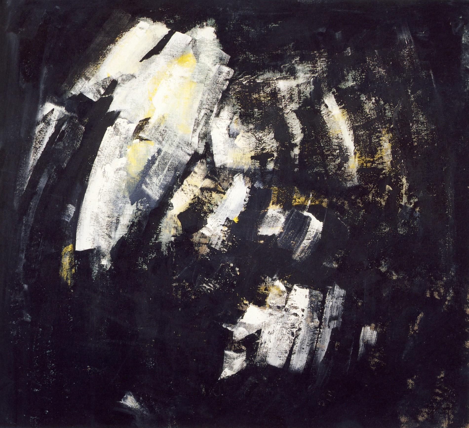 """senza titolo, dalla serie """"Ipotesi d'attesa"""", 1991, tempera acrilica su tela, cm 180 x 198  untitled, from the series """"Ipotesi d'attesa"""", 1991, acrylic tempera on canvas,cm 180 x 198"""