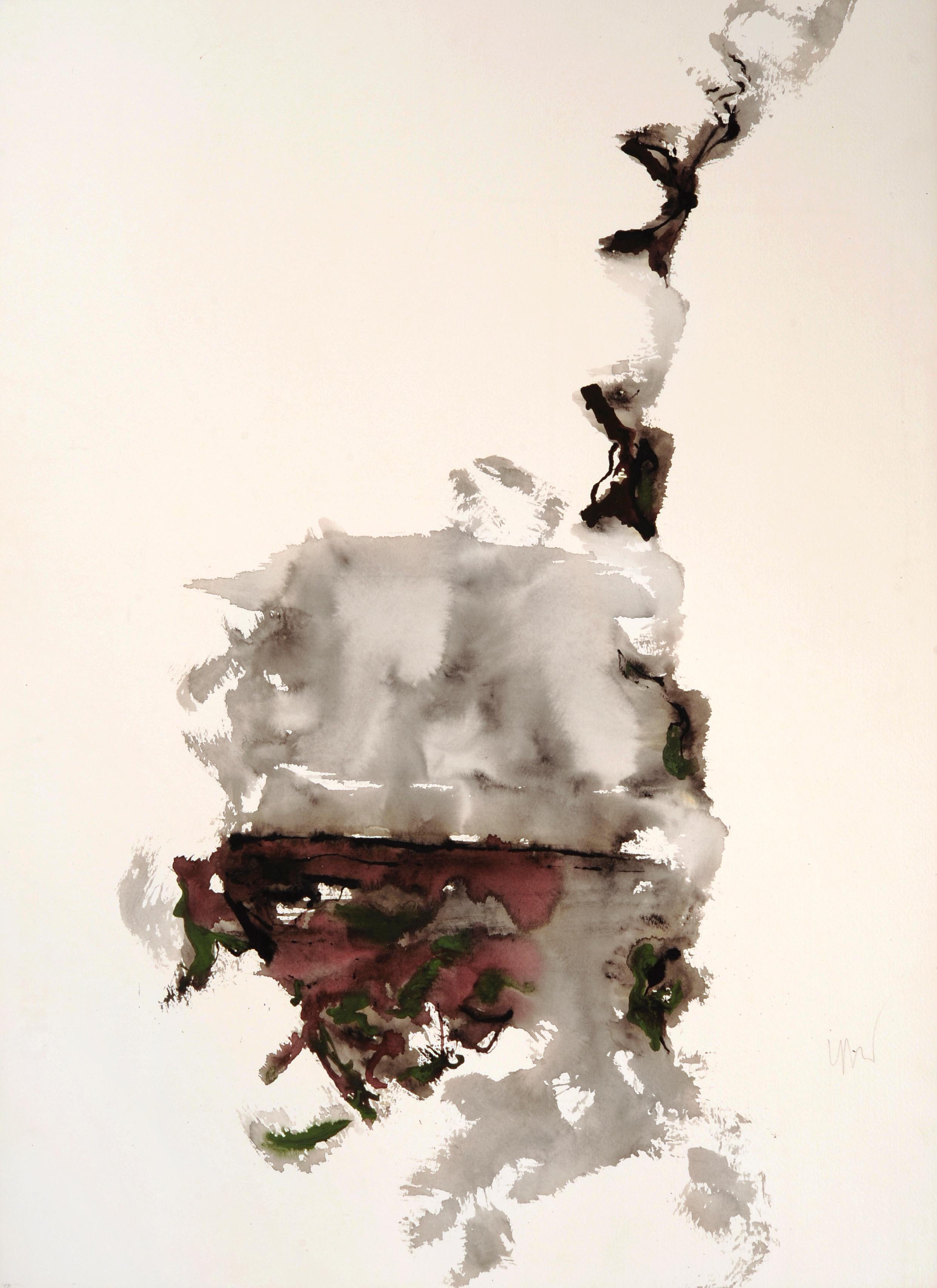 """senza titolo, dalla serie """"13 carte Fabriano"""", 1995, acrilico su carta Fabriano, cm 76 x 57  untitled, from the series """"13 carte Fabriano"""", 1995, acrylic on Fabriano paper, cm 76 x 57"""