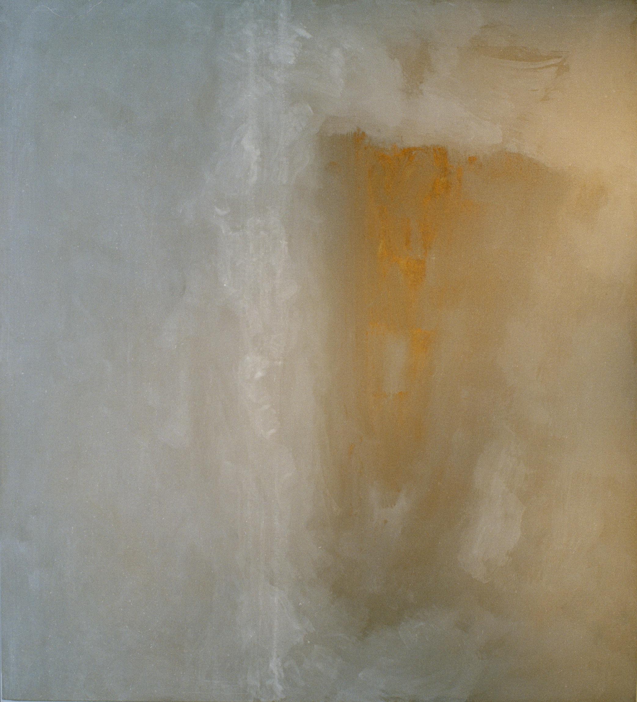 Nell'insidia della soglia, 2001,tempera acrilica su tela, cm 200 x 180  Nell'insidia della soglia,2001, acrylic tempera on canvas, cm 200 x 180