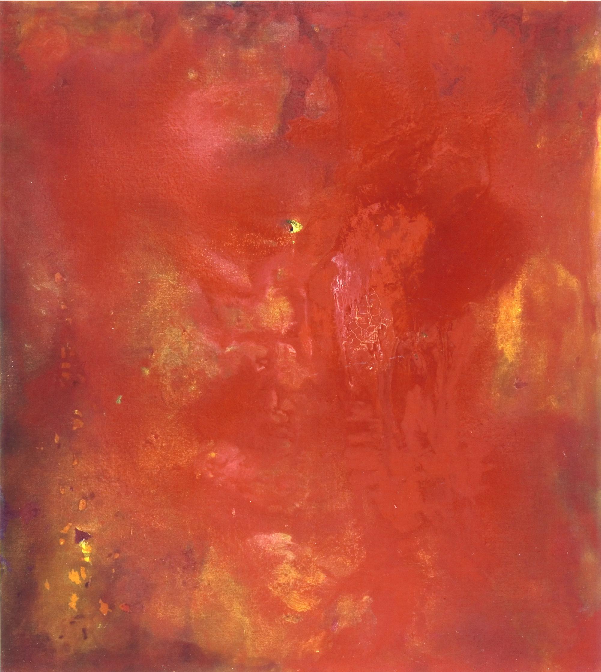 3 luglio, 2005, tempera acrilica e polveri d'oro, cm 200 x 180  3 luglio, 2005, acrylic tempera and gold dust, cm 200 x 180