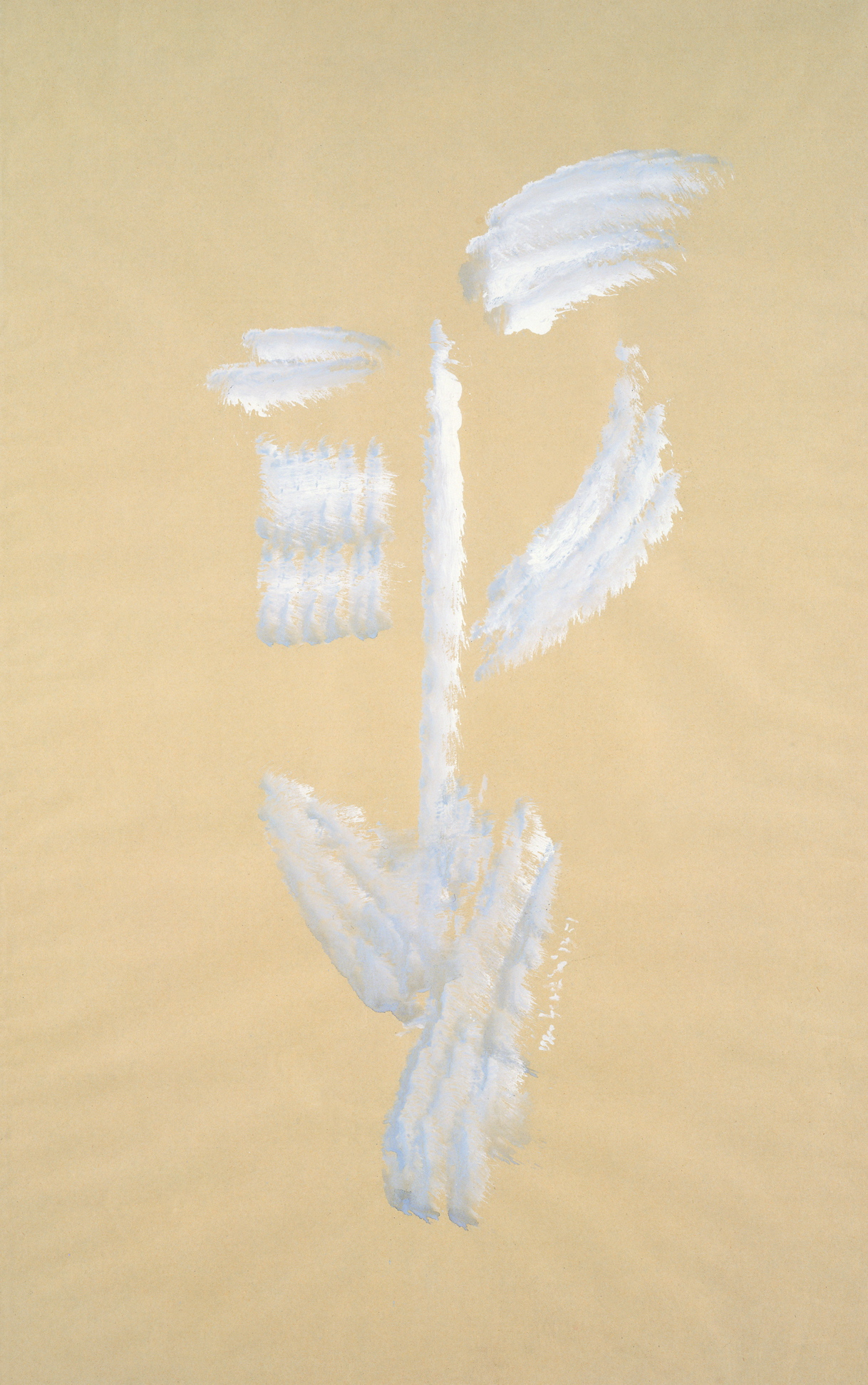 senza titolo, 1951, tempera su carta, cm 78,5 x 49  untitled, 1951, tempera on paper, cm 78,5 x 49