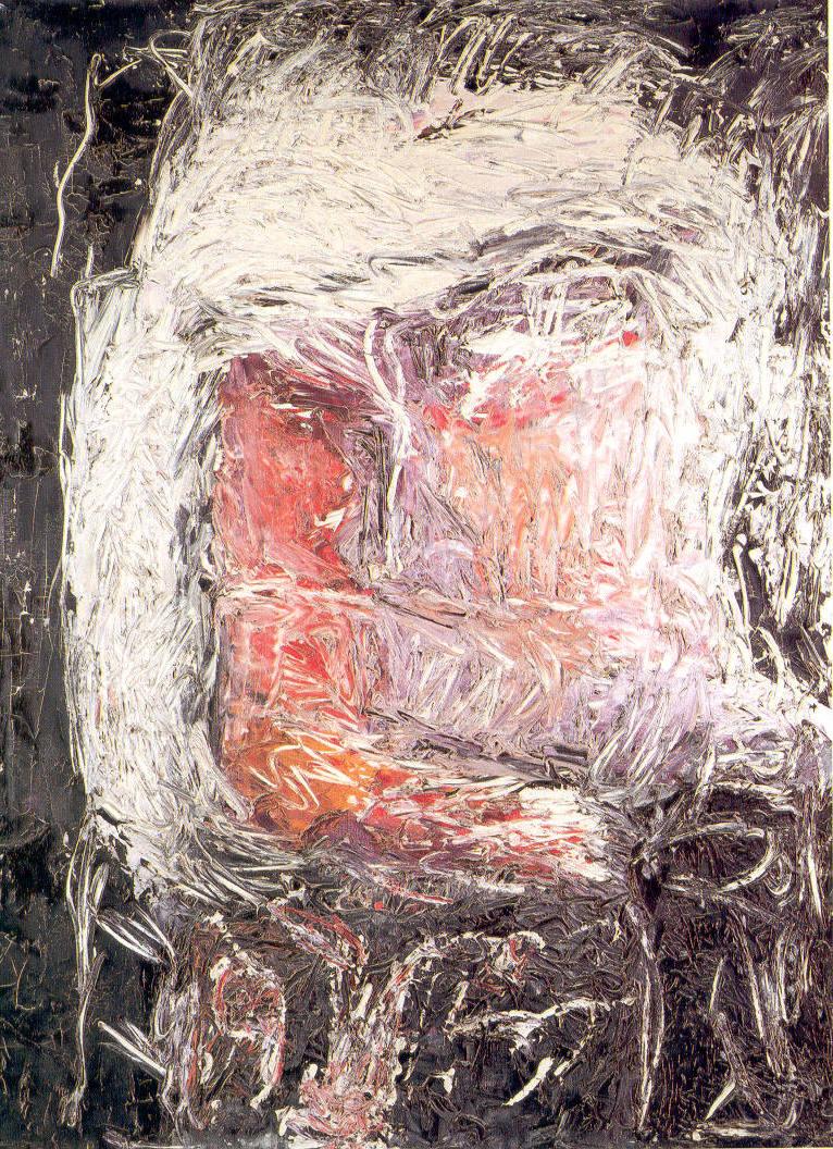 Il fanatico, 1962, olio su tela, cm 130 x 90   Il fanatico, 1962, oil on canvas, cm 130 x 90