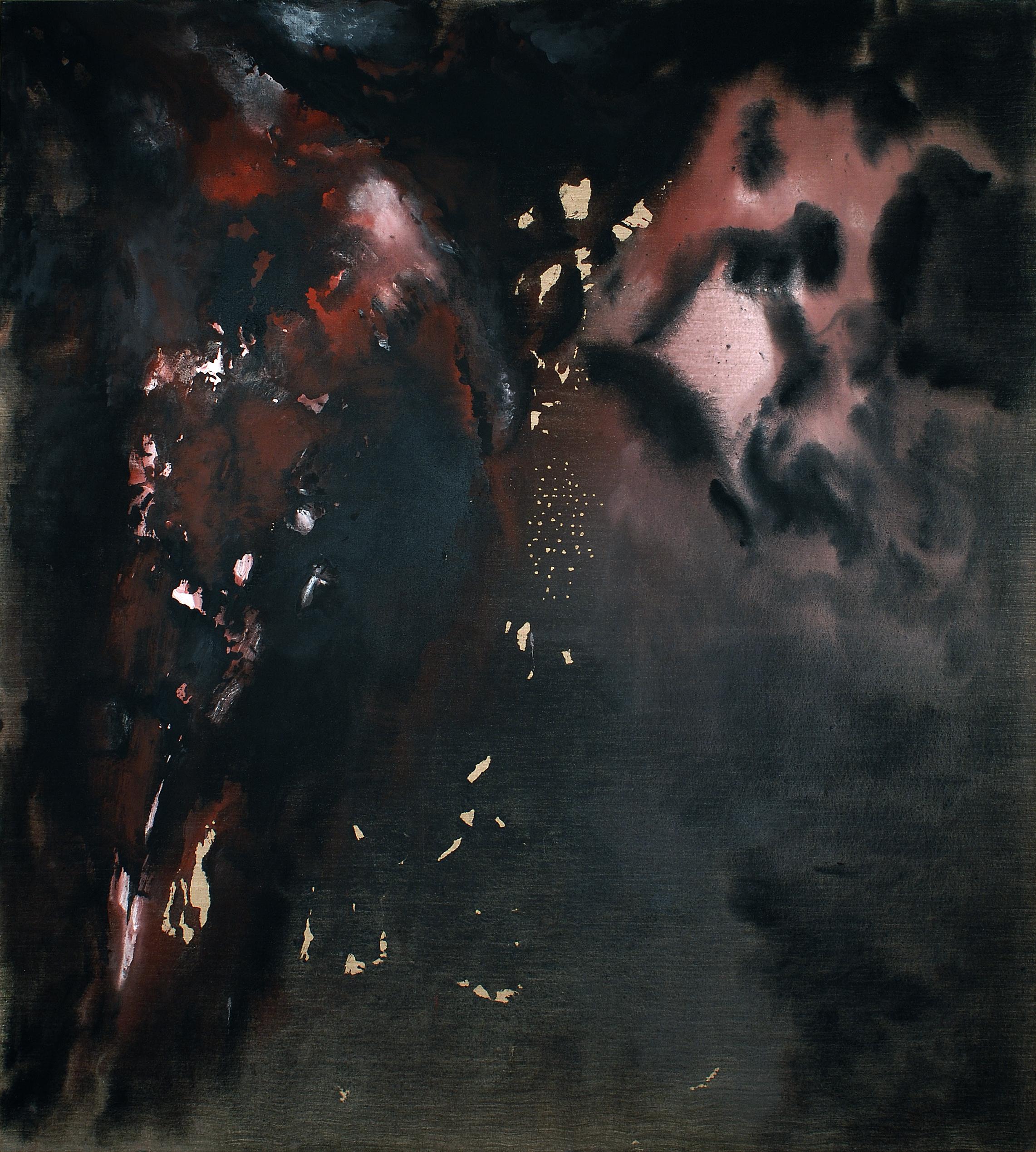 3 agosto, 2004, tempera acrilica su tela, cm 200 x 180  3 agosto, 2004, acrylic tempera on canvas, cm 200 x 180