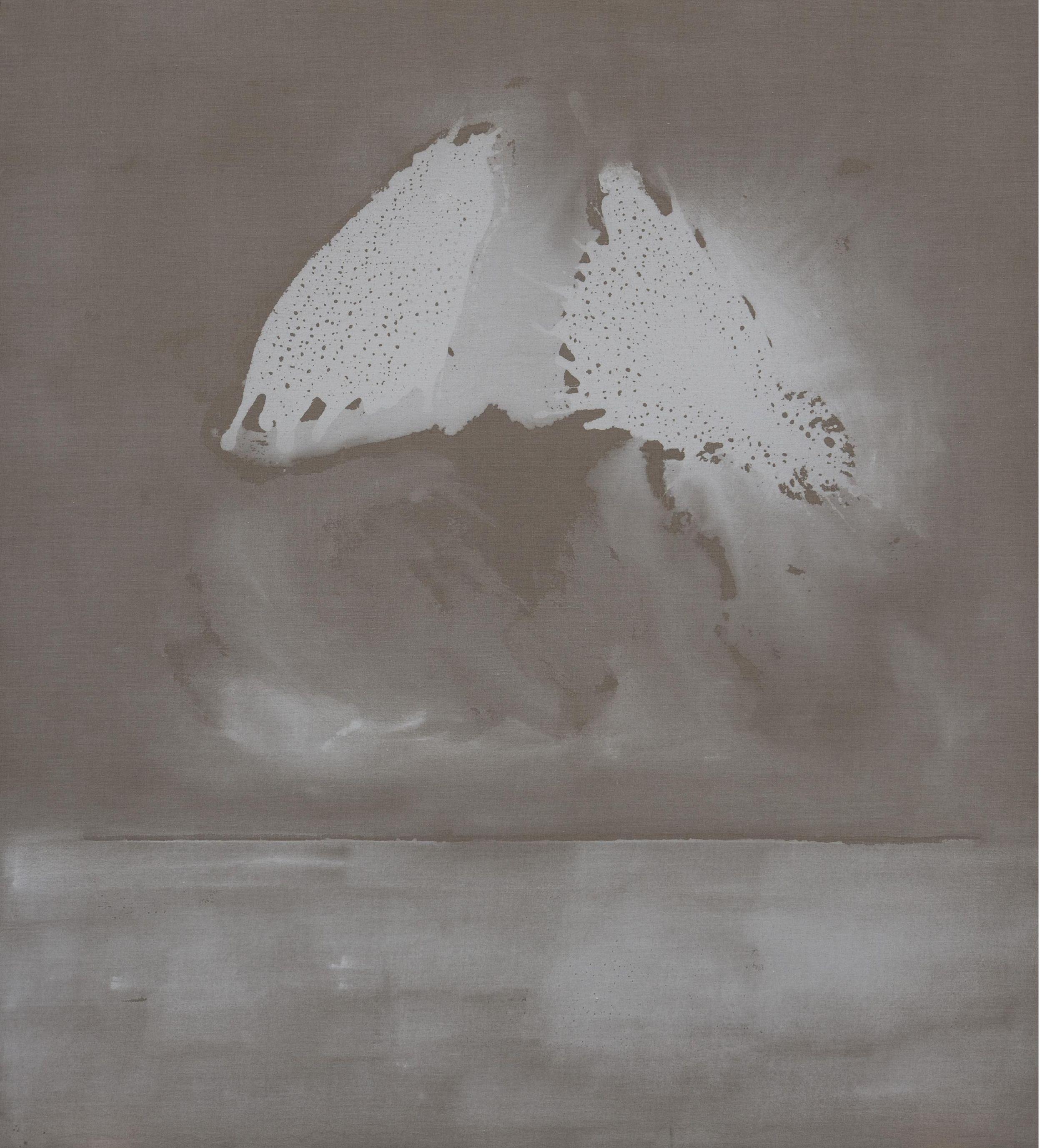22 aprile, 2004, tempera acrilica su tela, cm 200 x 180  22 aprile, 2004, acrylic tempera on canvas, cm 200 x 180